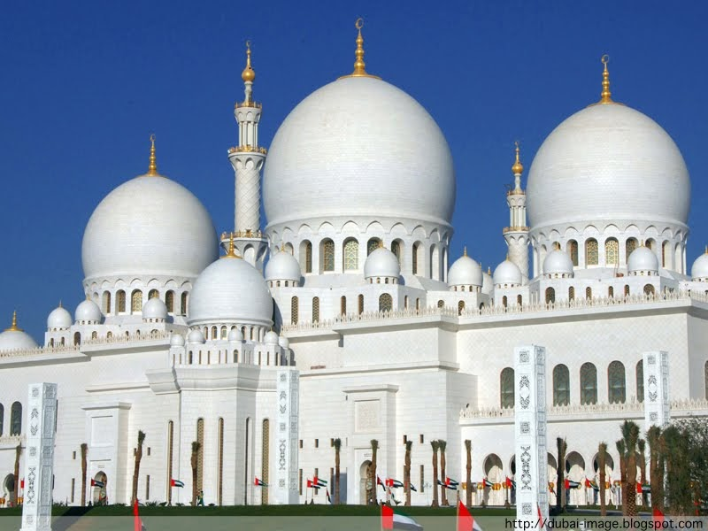 Dubai Image : Photo of Dubai: Abu Dhabi : Sheikh Zayed Mosque