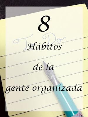 Habitos gente organizada