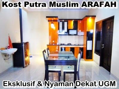 kost exclusive muslim only dekat ugm