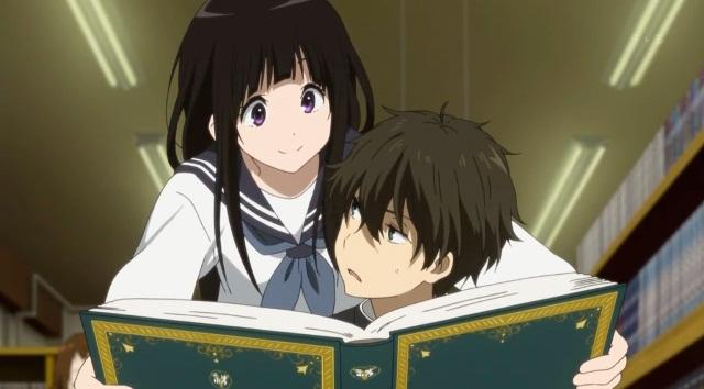 Salah Satu Anime Yang Bikin Penggemar Gemes Hyouka Menjadi Kedua Saya Rekomendasikan Kalau Kamu Memang Mencari Memiliki Genre