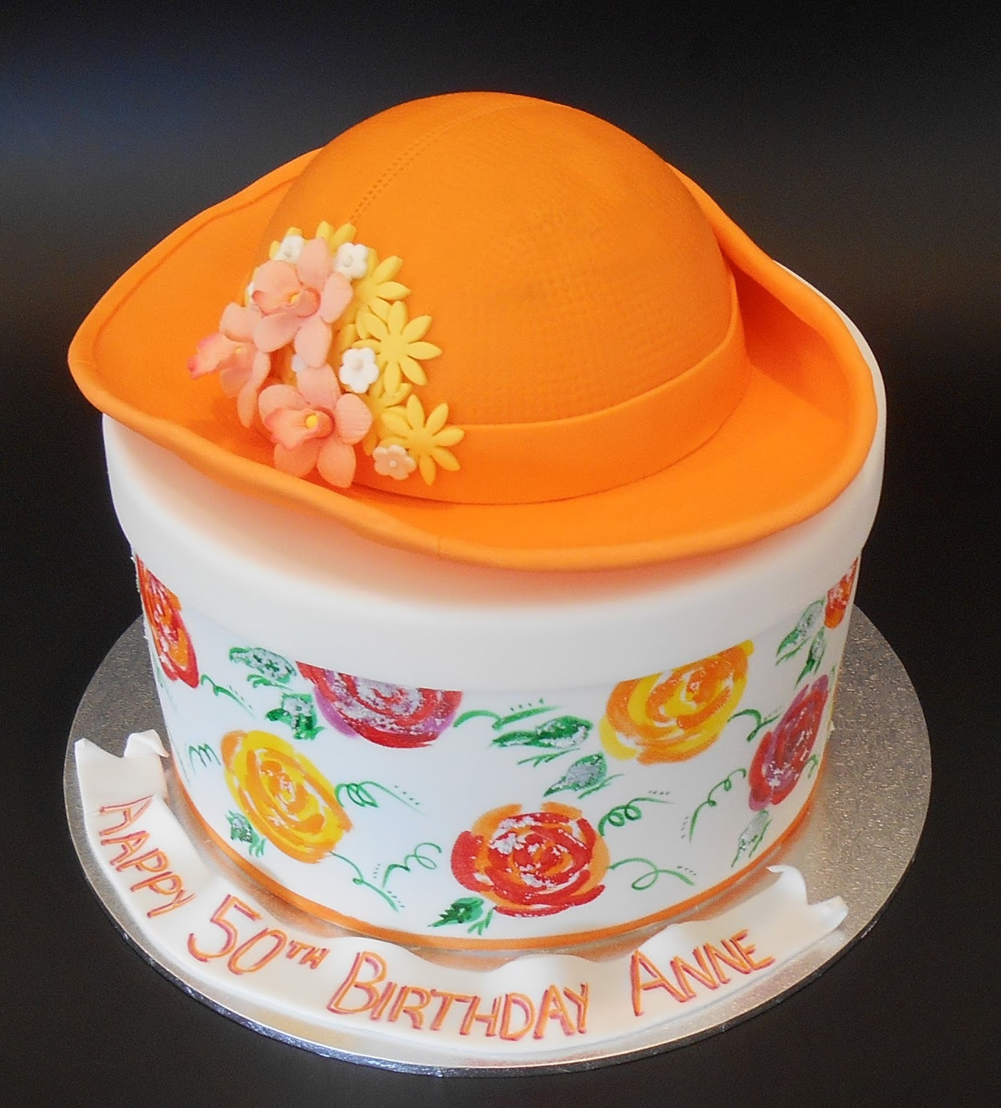Nadas Cakes Hat On Box Birthday Cake By Nadas Cakes Canberra