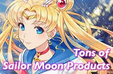 New Sailor Moon Items at J-List.com!