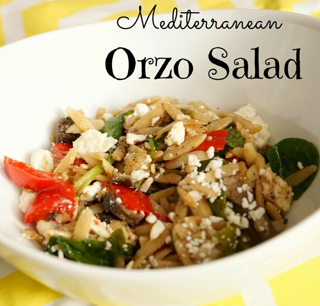 Mediterranean Orzo Salad With Grilled Vegetables Recipes — Dishmaps