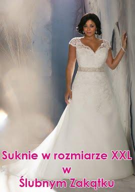 Suknie ślubne XXL w Ślubnym Zakątku