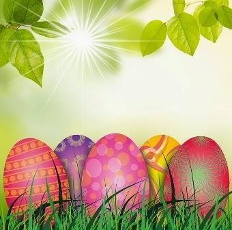 foto di uova di pasqua colorate
