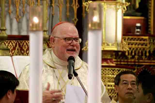 Đức Hồng Y Reinhard Marx, Chủ tịch Hội đồng Giám mục Đức chủ sự Thánh lễ đại triều tại Nhà thờ Chính tòa