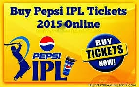 IPL 8 book ticket of your favorite team match starts with RS 500
