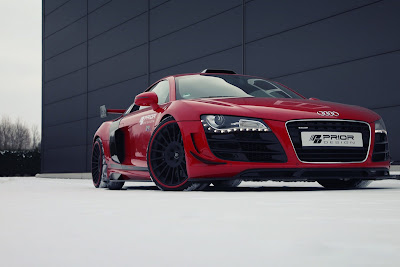 Audi R8 sports coupe