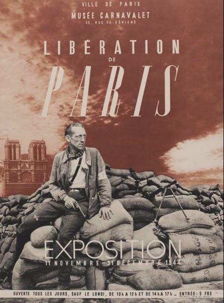 Libération de Paris Affiche 1944