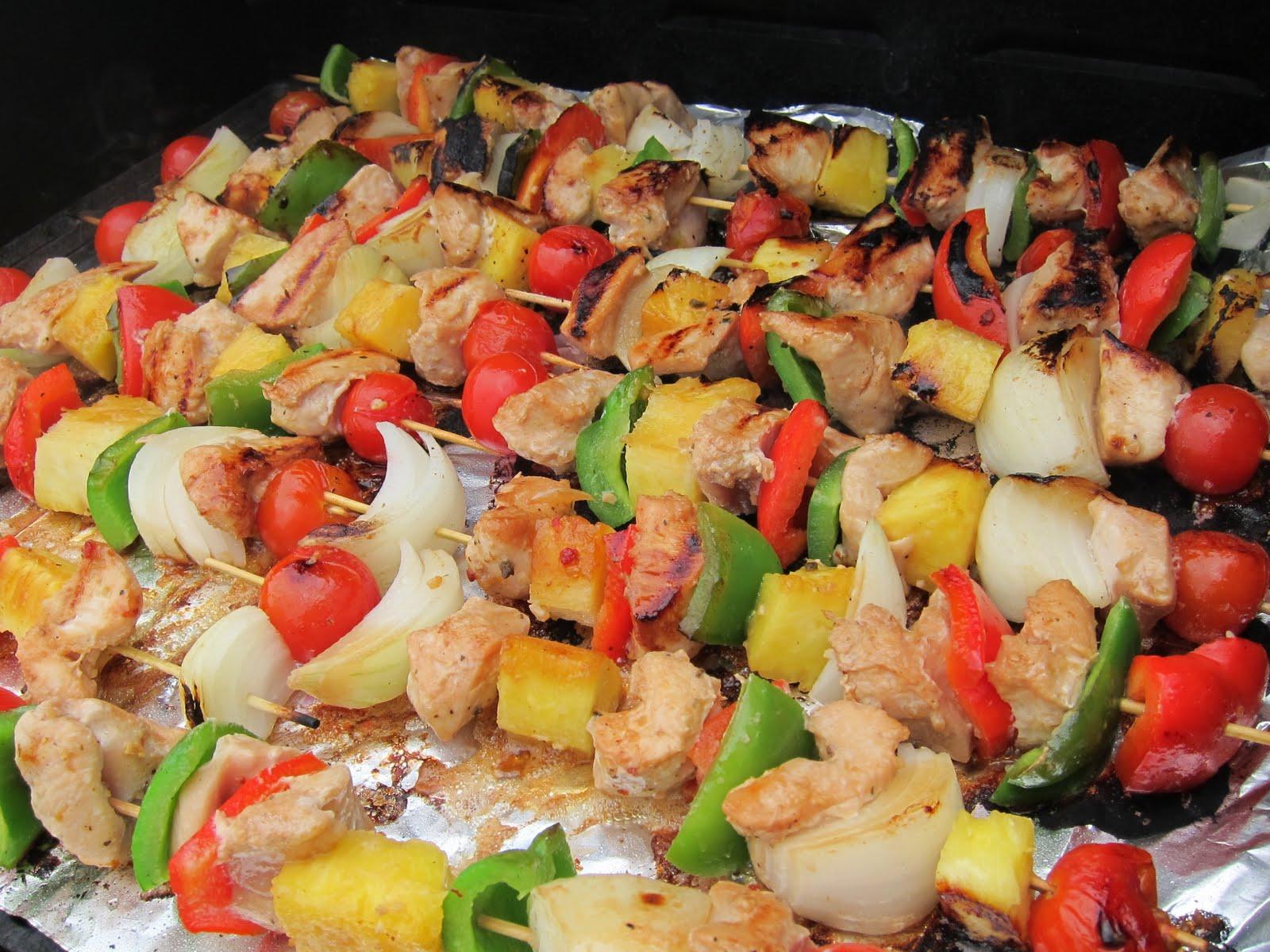 chicken kabobs marinated greek chicken kabobs maple glazed chicken ...