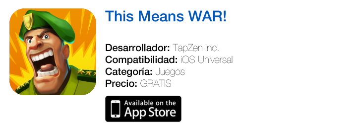 https://itunes.apple.com/es/app/this-means-war!/id641387028?mt=8