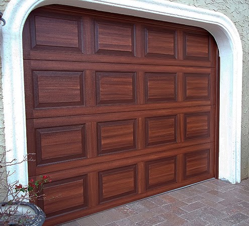 New ebook tutorial everything i create paint garage for Wood look garage doors
