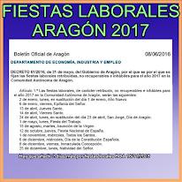 FIESTAS LABORALES 2017