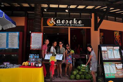 Kaeseke Seafood Restaurant - Boracay