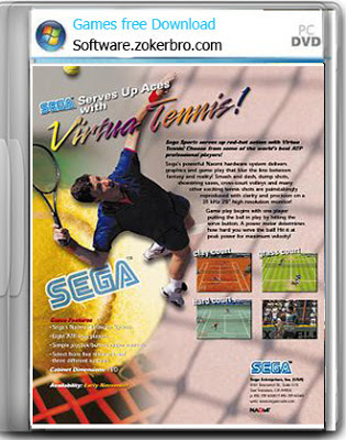 Virtua Tenis SEGA PC Games  Full Version