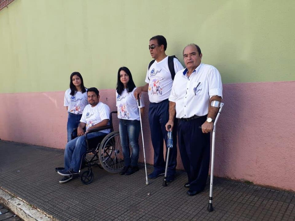 Desfile: Participação com IAPD.