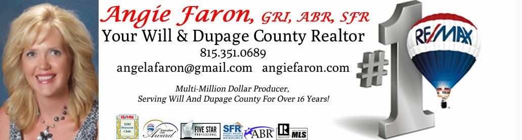 Angie Faron, Your Will & Dupage County Realtor
