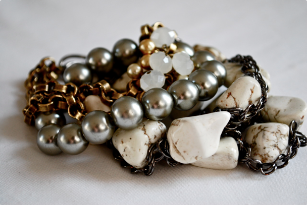 statement bracelets - arm candy