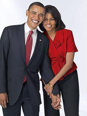 Tổng Thống Obama Và Phu Nhân Michelle