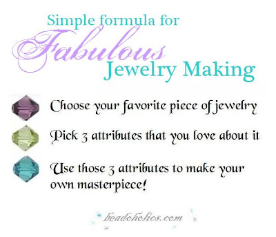 jewelry making tip: how to create unique jewelry of your own ~ beadoholics.com