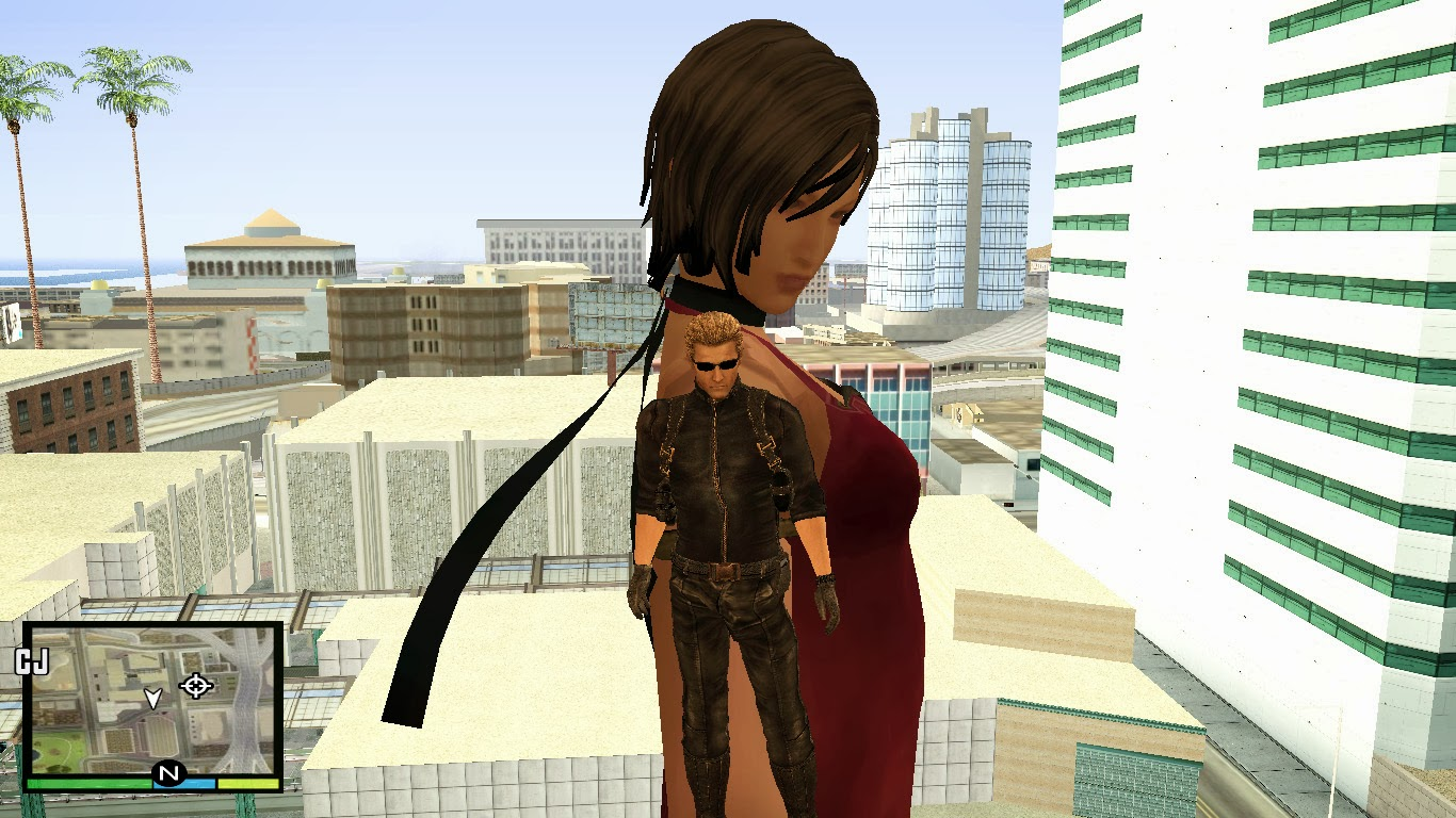 GTA San Andreas Resident Evil 4 UHD Ada Wong Assignment