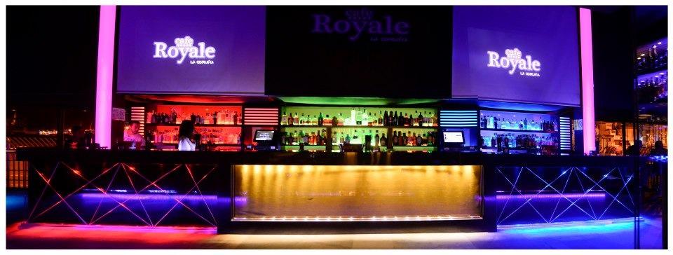 ebled iluminacion pub royale cafe coru a en c c los