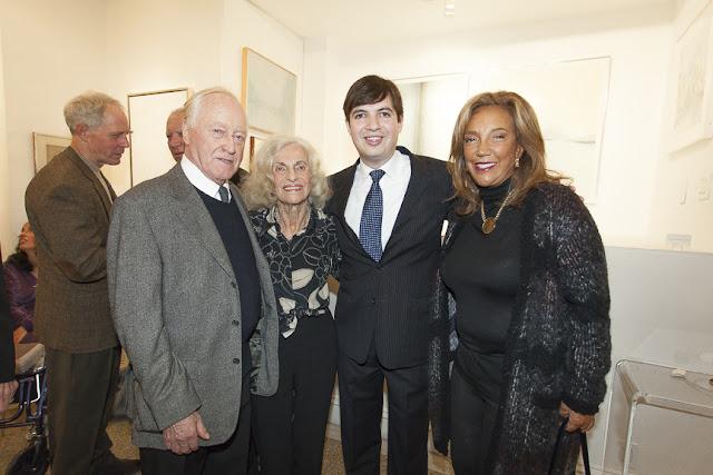 Sonja Eisenberg, Denise Rich, Leonard Tourne, Javier Tourne, Leonard Tourne Gallery