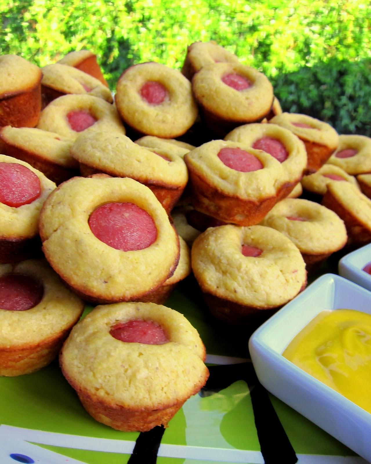 Corn Dog Muffins - Football Friday | Plain Chicken