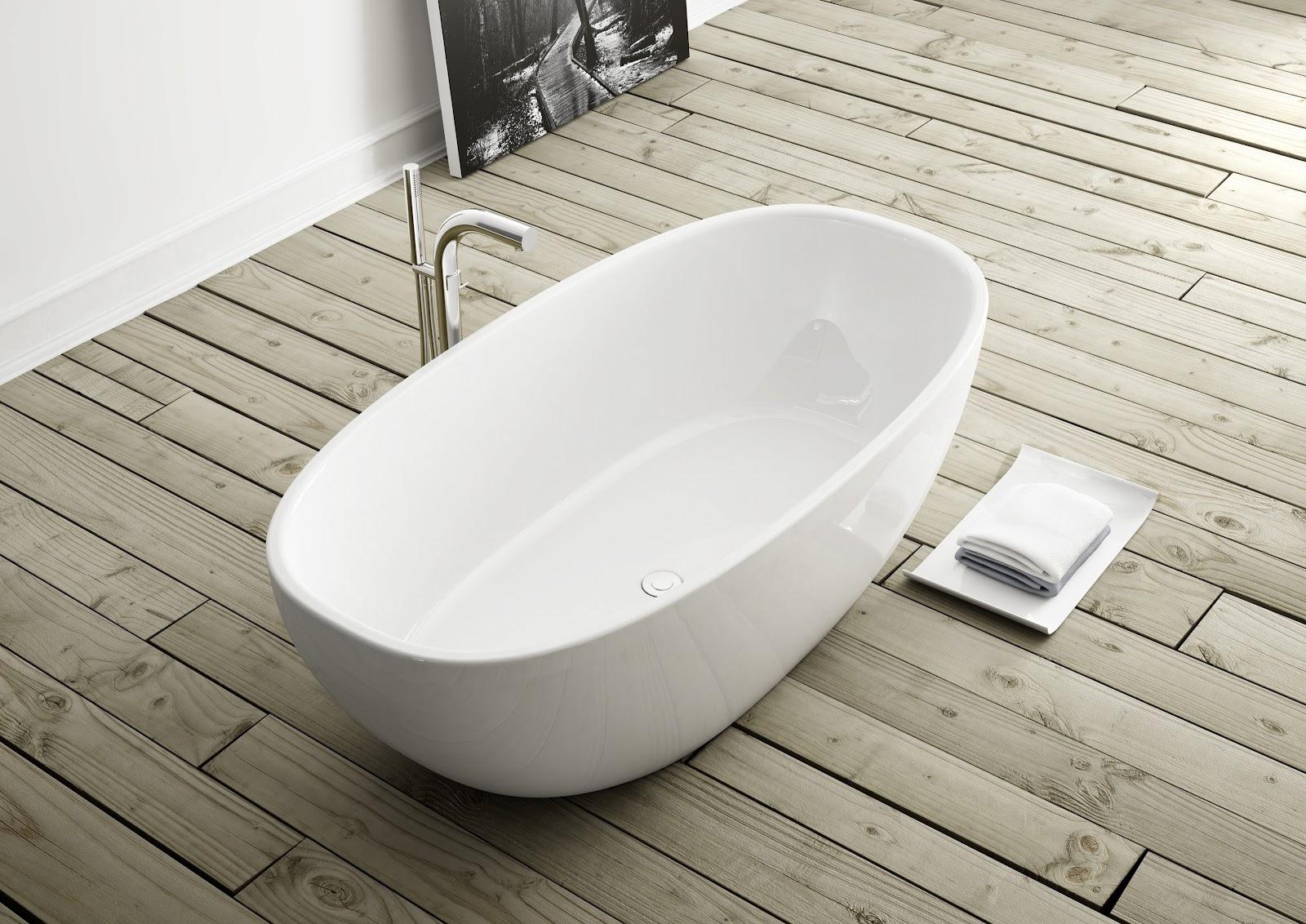 Banheiro & Cia: Banheiras freestanding #595141 1600x1132 Banheiro Com Banheira Antiga