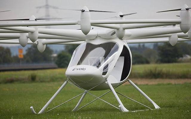 Helicóptero futurístico