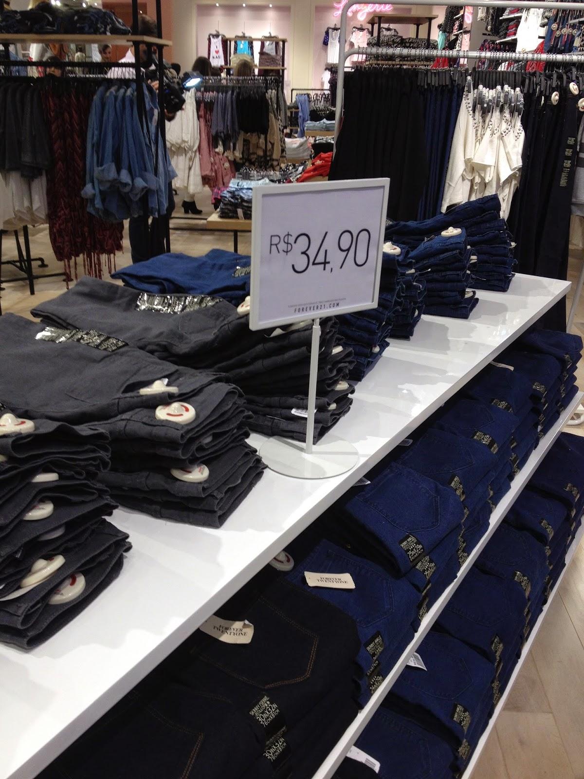 Forever 21, loja, Brasil, Ribeirão Preto