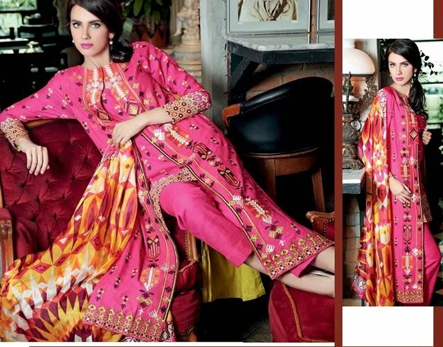GulAhmed Trencia Satin Silk Collection-14/15