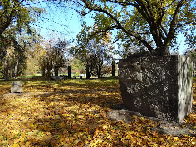 Pergola w parku Leśnika na Gocławku