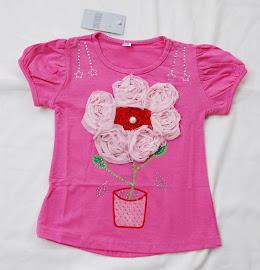T-Shirt untuk Anak Perempuan