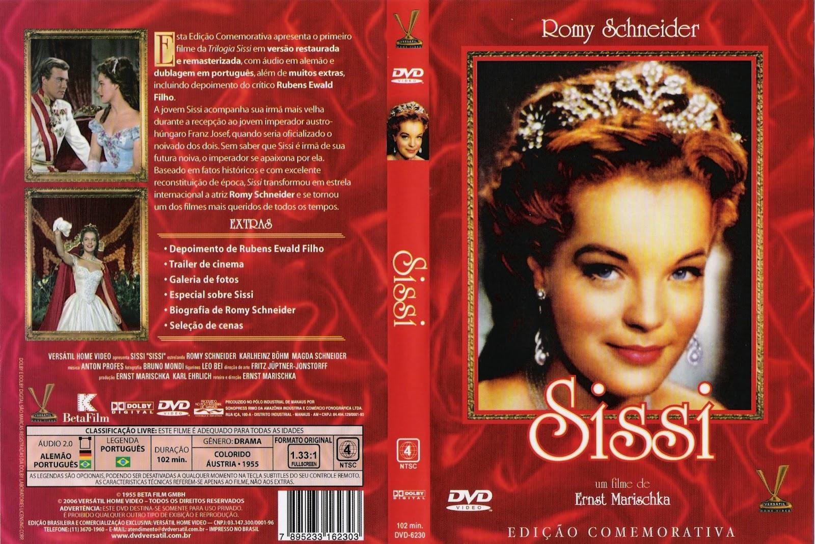 Capas Medina - Somente Capas de DVD: Sissi