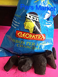 Cleopatra Egytian Natural Carbon Charcoal for Hookah at Pars Market LLC Columbia Maryland 21045