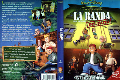 La banda del patio (2001) | Caratula | Cartel | Disney