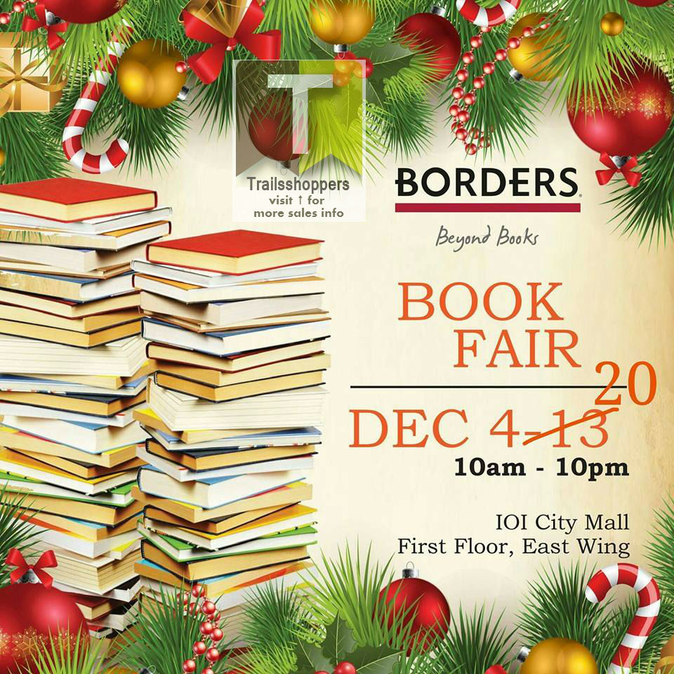 Borders Book Fair Extended 2015