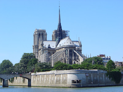 Notre Dame de Paris also known as Notre Dame Cathedral