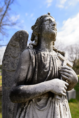Angel at Sleepy Hollow Cemetery