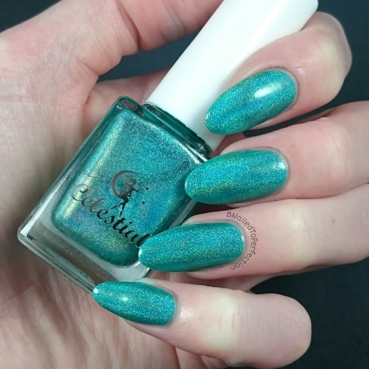B nailed to perfection celebrate with nyx celestial cosmetics this picture is probably the most colour accurate its got a strong holographic finish and green tones youll see this in another picture soon prinsesfo Image collections