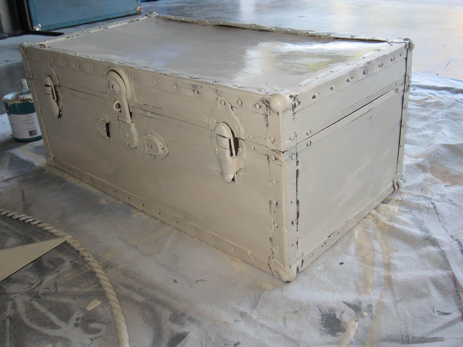 The Decorating Duchess Vintage Trunks