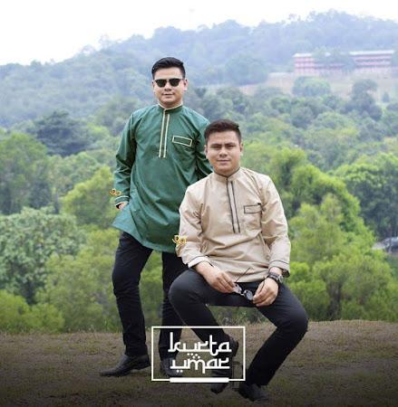 Rekaan Terkini Khas Untuk Lelaki Kurta Omar Dengan Pilihan Warna YAng PAstinya Abang NAmpak Sado