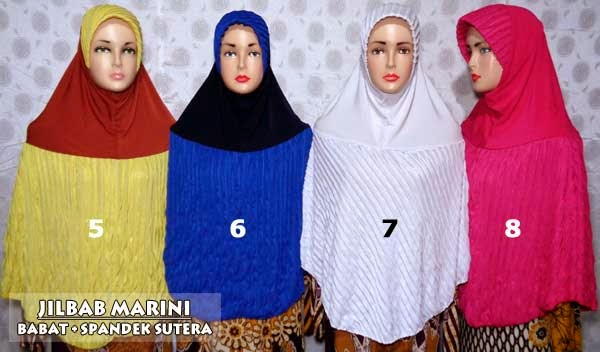 Jilbab ruffle instan untuk tampil fashionable dan syar'i