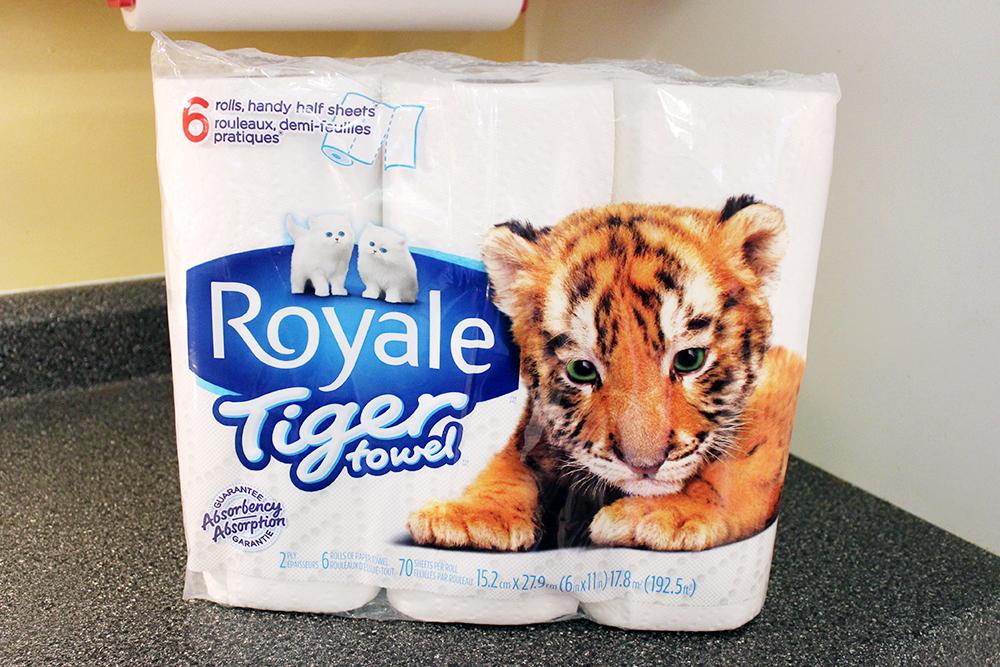 #PropreEnTigre essuie-tout Tiger Towel Royale