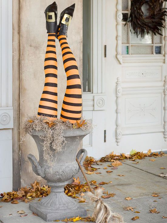 paper mache - Recycled Halloween Decorations