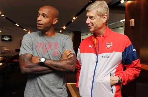 Wenger believes Henry can become next Arsenal manager