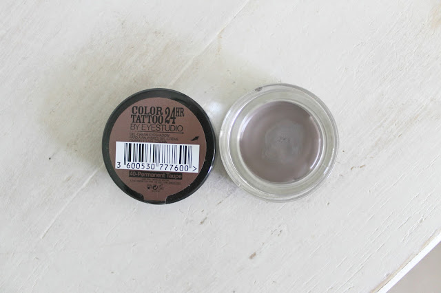 Maybelline Color Tattoo 24 Hr in 40 Permanent Taupe and 91 Creme De Rose and Master Drama Khol Liner in Dark Brown Makeup Haul Beauty Blogger Review
