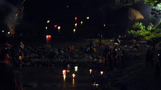 Lampion Air Tahun Baru - Sungai Serayu