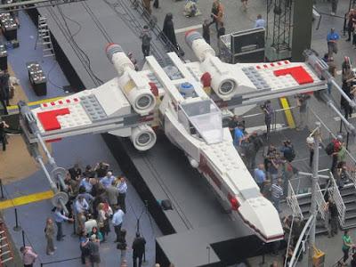 Lego Star Wars, Lego X Fighter, Lego Ships, Life Size Lego Creations, Lego Video, Legos
